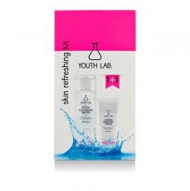 Youth Lab Skin Refreshing Kit Set Oxygen Moisture Cream 50ml & Fresh Cleansing Water 200ml