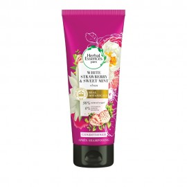 Herbal Essences Pure White Strawberry & Sweet Mint Conditioner Λάμψης Λευκή Φράουλα και Γλυκιά Μέντα 200ml