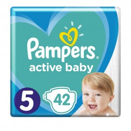 Pampers Active Baby Dry No5 (11-16Kg) 150Τμχ