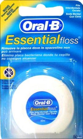 Oral-B EssentialFloss Waxed 50m