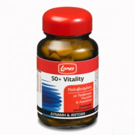 Lanes 50+ Vitality Πολυβιταμίνες, για δύναμη, αντοχή & ζωντάνια 30ταμπλετες