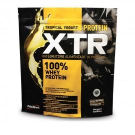 EthicSport Protein XTR Tropical Yogurt, 100% Πρωτεΐνη Ορού Γάλακτος Υψηλής Περιεκτικότητας Λακτοφερίνη, bcaa, B6 500gr