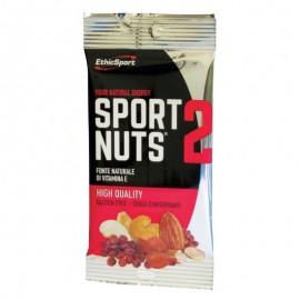 EthicSport Sport Nuts 2, Μίγμα με Αποξηραμένους Καρπούς και Φρούτα, Πλούσιο  σε Βιταμίνη Ε 30gr