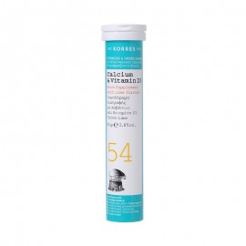 Korres Calcium & Vitamin D3, 18 Αναβράζοντα Δισκία