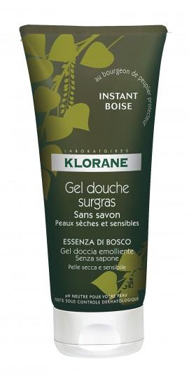 Klorane Gel Douche Surgras Essenza Di Bosco, Αφρόλουτρο Δροσιά του Δάσους 200ml