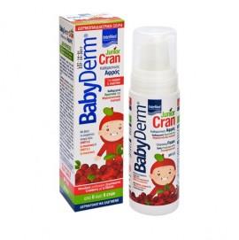 Intermed Babyderm Junior Cran Cleansing Foam Αφρός Καθαρισμού για την Ευαίσθητη Περιοχή, Αγόρια&Κορίτσια 0-6 Ετών 150ml