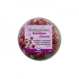 Inoplus Herbal Candies Echinacea Καραμέλες για το Κρυολόγημα με Εχινάκια 70gr