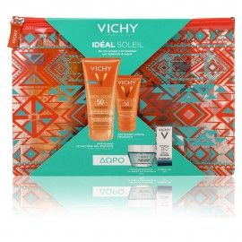 Vichy Promo Ideal Soleil Wet Skin SPF50 200ml & Mattifying Face Fluid SPF50 50ml & Mineral Mask 15ml & Mineral 89 5ml