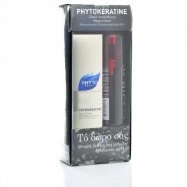 Phyto Promo Phytokeratine Spray Θερμο-Ενεργό Σπρέι Μαλλιών 150ml & ΔΩΡΟ Phytolaque Soie Φυτική Λακ 100ml