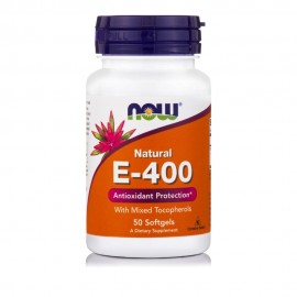 Now Foods Vitamin E-400 iu, Mixed Tocopherols  50Softgels
