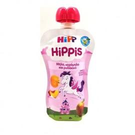 Hipp Hippis Παρασκεύασμα Φρούτων Μήλο,Κορόμηλο και Ροδάκινο Από 1 Έτους 100gr
