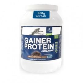 My Elements High Performance Gainer Protein & Creatine, Πρωτεΐνη για Ενίσχυση Όγκου Γεύση Σοκολάτα 2Kg