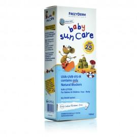 Frezyderm Baby Sun Care SPF25, Αντηλιακό Γαλάκτωμα για Βρέφη&Παιδιά Πρόσωπο/Σώμα 100ml