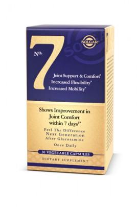 Solgar No.7 Joint Support, Φόρμουλα για την Καλή Λειτουργία των Αρθρώσεων, 30 Vegetable Caps
