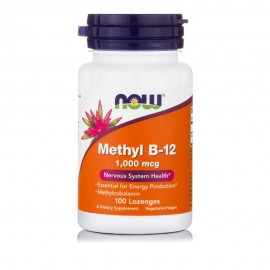 Now Foods Methyl B-12 1,000 mcg 100Παστίλιες