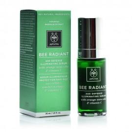 Apivita Bee Radiant Serum, Ορός Αντιγήρανσης & Λάμψης, με Βλαστοκύτταρα Πορτοκαλιού & Βιταμίνη C 30ml