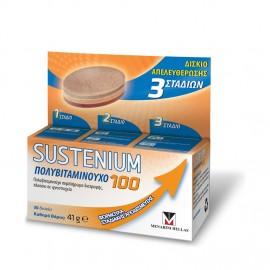 Menarini Sustenium 100 Πολυβιταμινούχο Συμπλήρωμα Διατροφής 30Δισκία