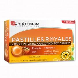 Forte Pharma Pastilles Royales, Παστίλιες με Πρόπολη και Γεύση Μέλι για τον Πονόλαιμο 24τμχ