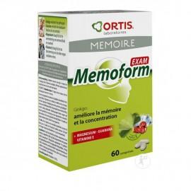 Ortis Memoform Exam Συμπλήρωμα Διατροφής για Μνήμη/Συγκέντρωση 60tabs