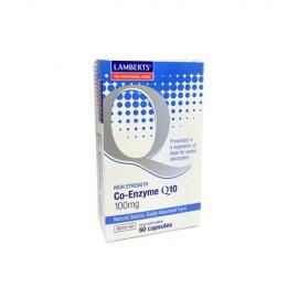 Lamberts Co-Enzyme Q10, Συνένζυμο Q10 100mg, 60 Κάψουλες