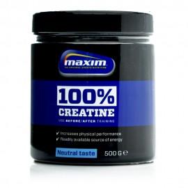 Maxim Creatine 100%, Καθαρή Μονοϋδρική Κρεατίνη 500gr