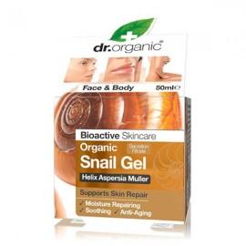 Dr.Organic Organic Snail Gel  Επανορθωτικό Τζελ για το Πρόσωπο και το Σώμα με Έκκριμα Σαλιγγαριού 50ml