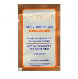 Hydrovit Pure Vitamin C 20% Collagen Booster 7 Monodoses