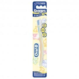 Oral-B Stages No1 Οδοντόβουρτσα για Παιδιά 4-24 Μηνών