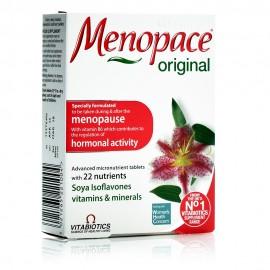 Vitabiotics Menopace Original, Συμπλήρωμα για τα Συμπτώματα της Εμμηνόπαυσης 30tabs