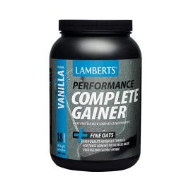 Lamberts Performance Complete Gainer Whey Protein Fine Oats, 1816g - Γεύση Βανίλια