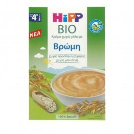 Hipp Κρέμα Χωρίς Γάλα με Βρώμη  4m+ 200gr