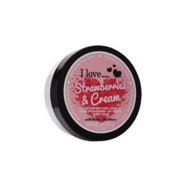 I love Body Butter Ενυδάτωση Σώματος Strawberries & Milkshake 200ml