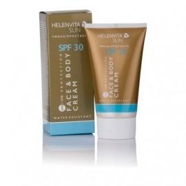 Helenvita Sun Cream Face & Body SPF30, Αντηλιακή Κρέμα Προσώπου/Σώματος 150ml