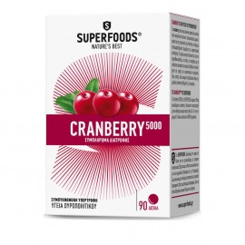 Superfoods Cranberry 5000, Κυστίτιδα, 90tabs