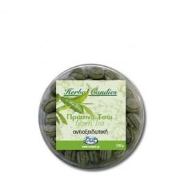 Inoplus Herbal Candies Green Tea, Καραμέλες με Αντιοξειδωτική Δράση, Πράσινο Τσάι 70gr