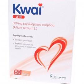 Boehringer Ingelheim Kwai LI 111 300 mg Εκχυλίσματος Σκόρδου, 50 δισκία