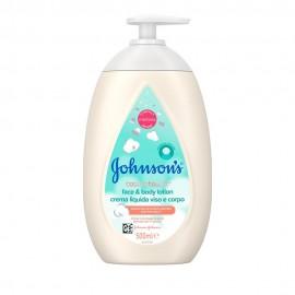 Johnsons Baby CottonTouch™ Λοσιόν για Πρόσωπο & Σώμα 500ml