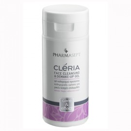Pharmasept Cleria Face Cleansing & Demake-Up Gel, Τζελ Καθαρισμού Προσώπου, Λιπαρές-Μικτές 150ml
