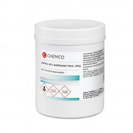 Chemco Acid Boric Crystal Ph.Eur. 200Gr