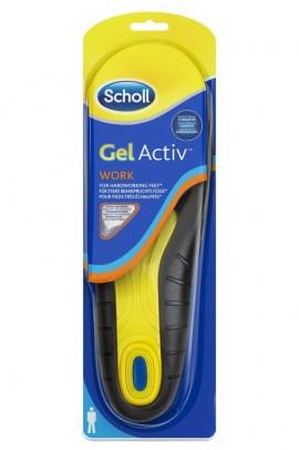 Scholl Gel Activ Work Ανδρικοί Ανατομικοί Πάτοι (Νο 42-48)