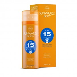 Synchroline Sunwards Body SPF15, Αντηλική Κρέμα Σώματος 150ml