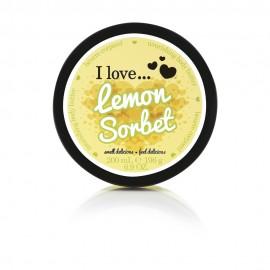 I love Body Butter Ενυδάτωση Σώματος Lemon Sorbet 200ml
