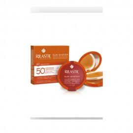 Rilastil Sun System Color Corrector SPF50+, Αντηλιακό Make Up10gr - 01 Beige