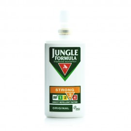 Omega Pharma Jungle Formula Strong Original Εντομοαπωθητικό Σπρέι με Deet 20% και Φυτικά Εκχυλίσματα 75ml