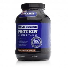 Maxim Mutli Source Protein Chocolate 80gr, Μείγμα 4 Πρωτεϊνών Γεύση Σοκολάτα 750gr