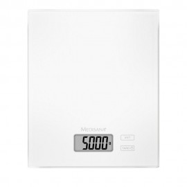 Medisana Γυάλινη Ψηφιακή Ζυγαριά Κουζίνας έως 5 kgr/5000ml KS 210