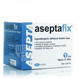 Asepta Aseptafix Αυτοκόλλητη Υποαλλεργική Ταινία Στήριξης, 10cmx10m