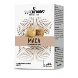 Superfoods Maca, Stress & Libido, 50casps