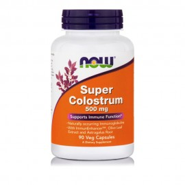 Now Foods Super Colostrum 500mg, 90 Veg Capsules