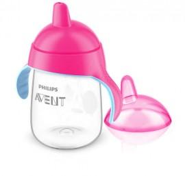 Avent Κύπελλο με λαβές 340 ml (ροζ)